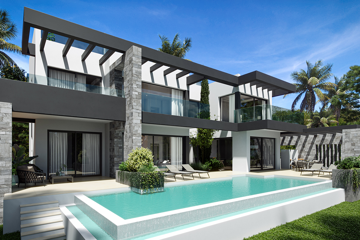 Fabulous Modern New Villa in Marbesa Beach