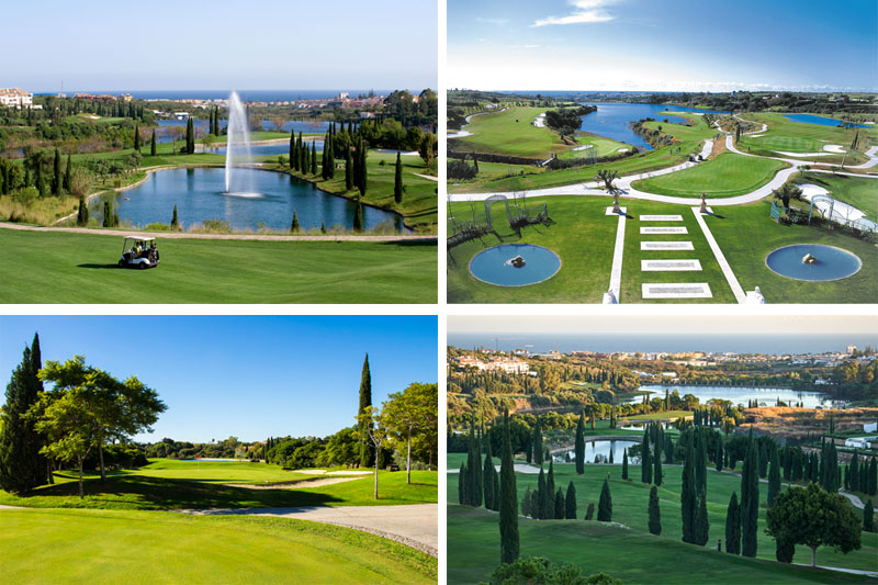 Excellent plot to build in Los Flamingos Golf, near Marbella.
