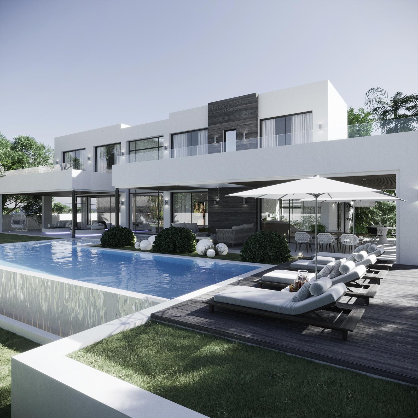 Luxury Modern 5 Bedrooms Villa in La Quinta Golf