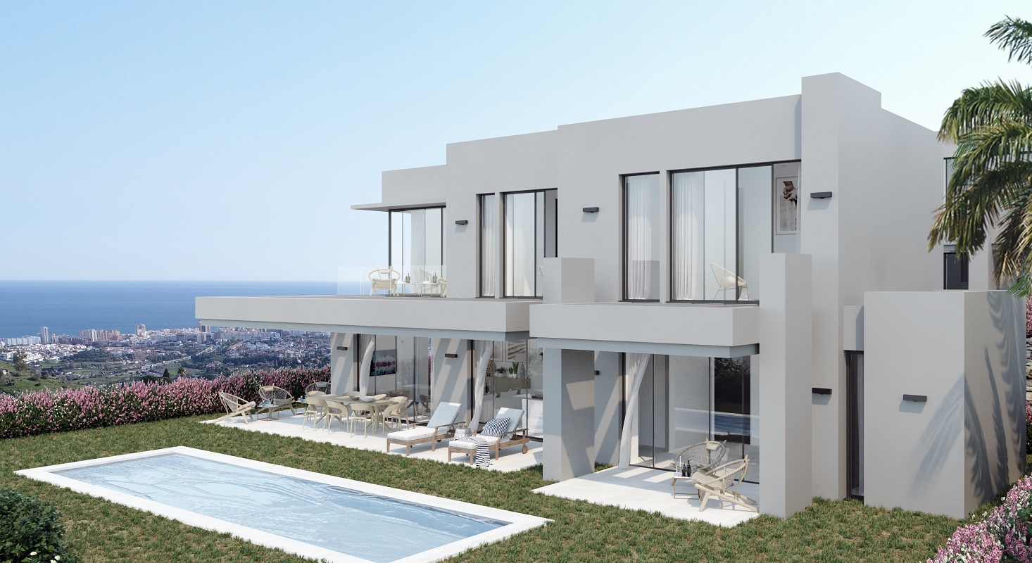 Brand New Project of Modern Villas with Panoramic Views in Mijas