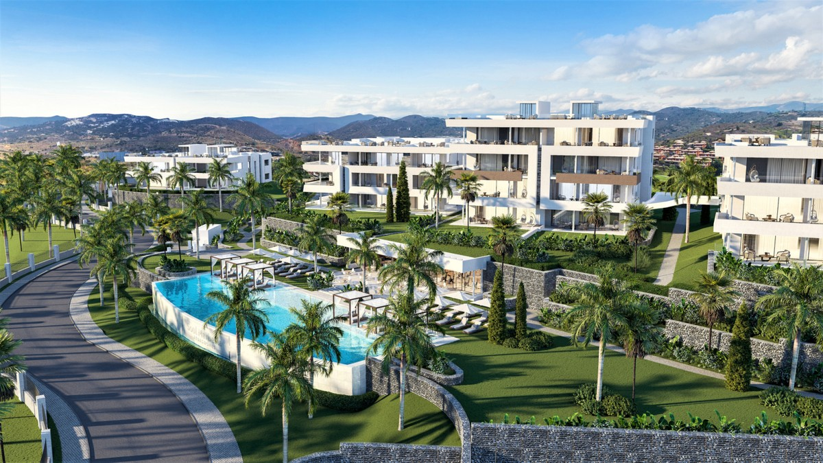 Off-Plan Brand New Penthouses in a Luxury Resort in Santa Clara Golf
