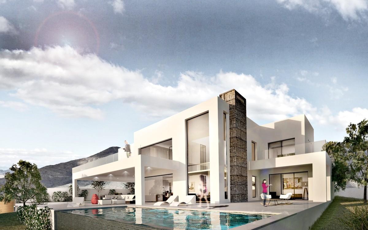 New Contemporary Villa with Outstanding Sea Views In La Mairena