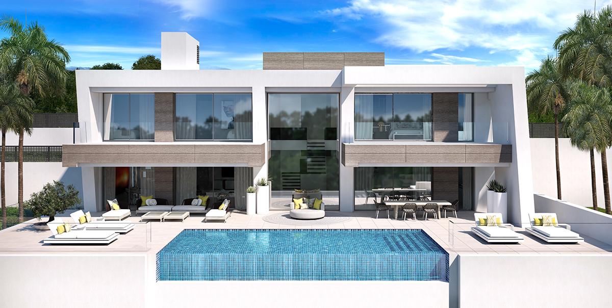 Beautiful Contemporary Villa in El Paraiso