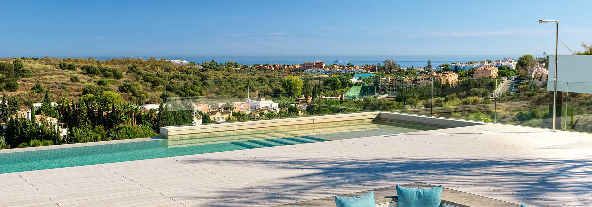 Stunning New Villa With Panoramic Sea Views in Los Flamingos