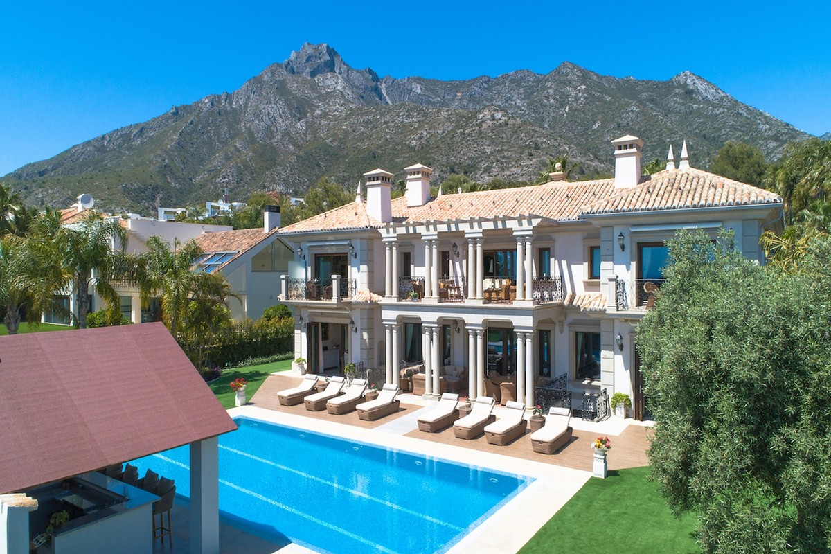 Magnificent Exclusive Palace Style Villa in Sierra Blanca