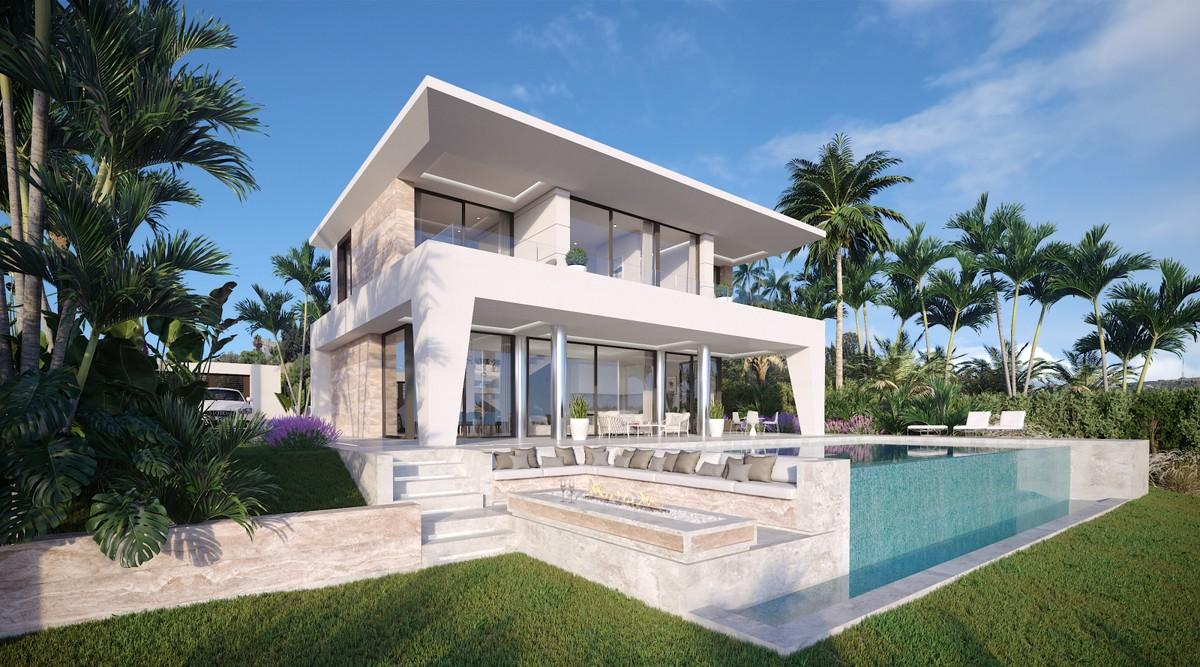 Off-Plan 3 Bedrooms Villas Development, Walking Distance to the Beach, in Manilva