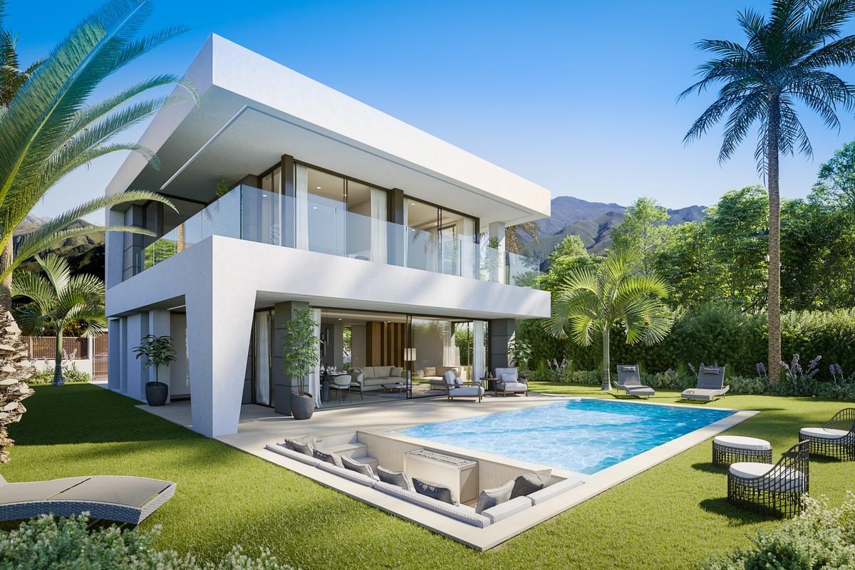 Luxury Modern & Fresh 3-4 Bedrooms Villas with Amazing Sea Views in Manilva