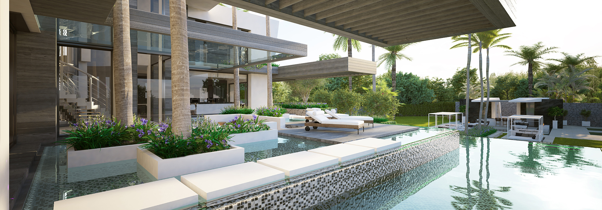 Amazing Luxury Modern Project of Villa in Cascada de Camoján!