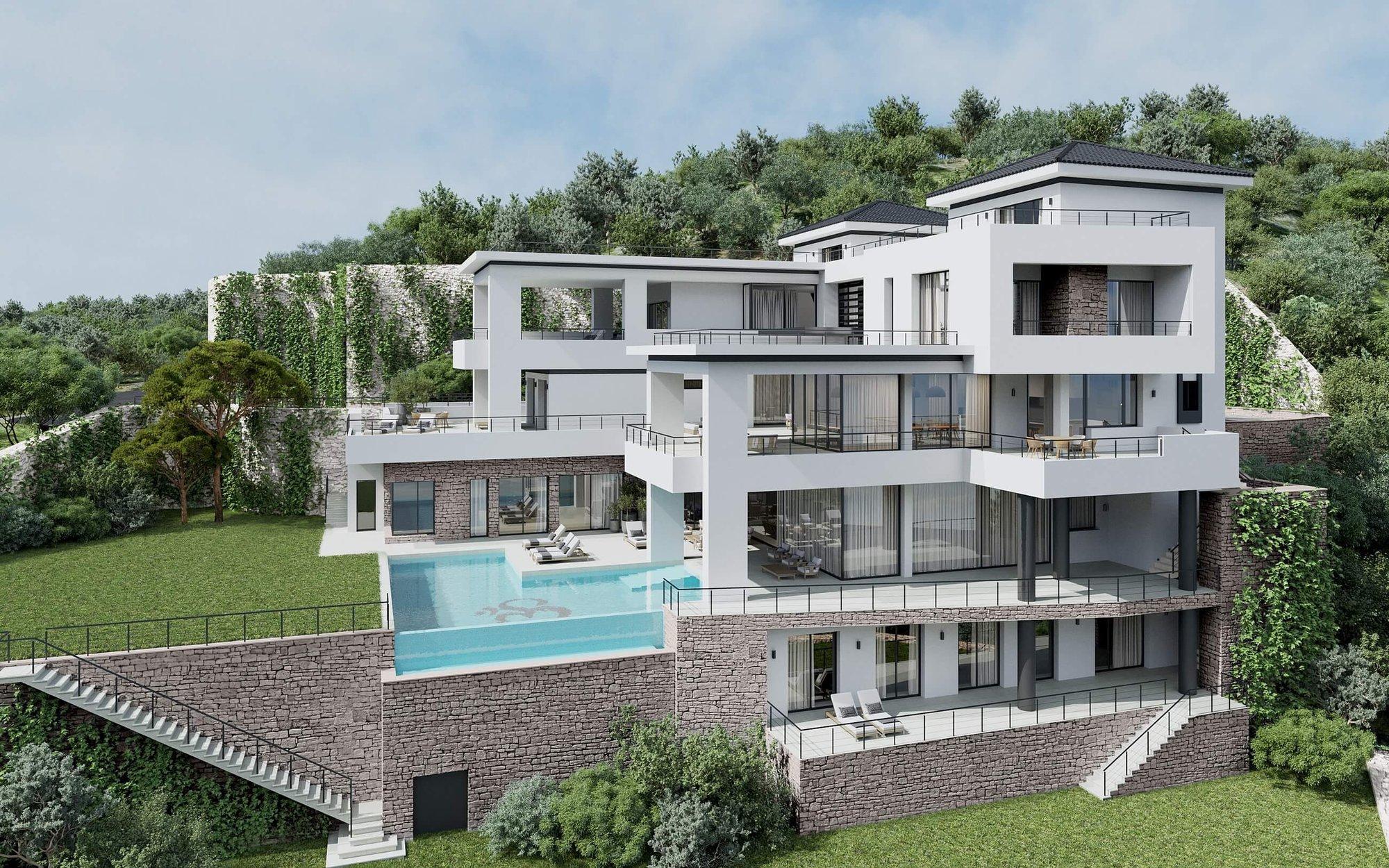 Modern & Luxurious Avant-garde Villa Located in the Alcuzcuz Nature Reserve (Benahavís), 15 minutes from Puerto Banús