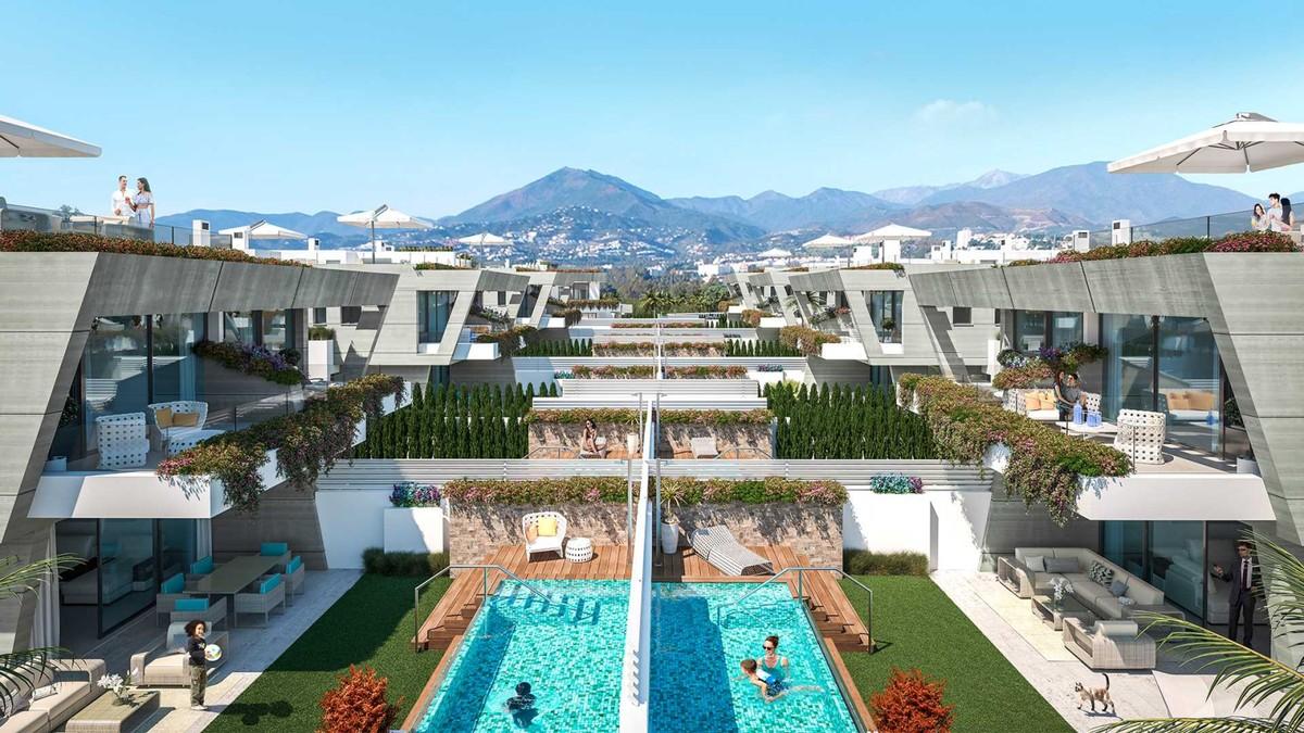 Project of Semi-Detached Independent Luxury Villas in Puerto Banús