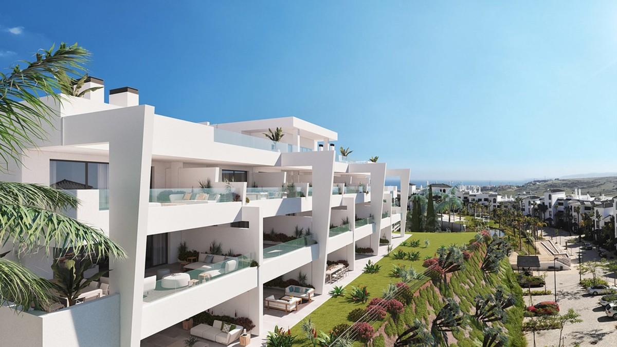 Exclusive Apartments with Panoramic Views only 800 m. from Estepona Centre!