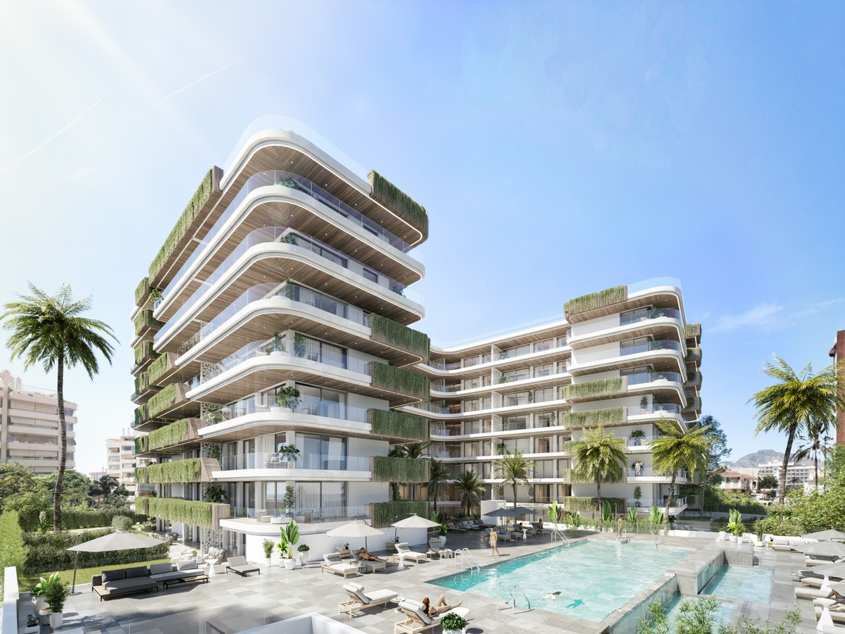 Wonderful Self-sufficient Modern Project of Apartments & Penthouses a few steps away from the Beach in Fuengirola