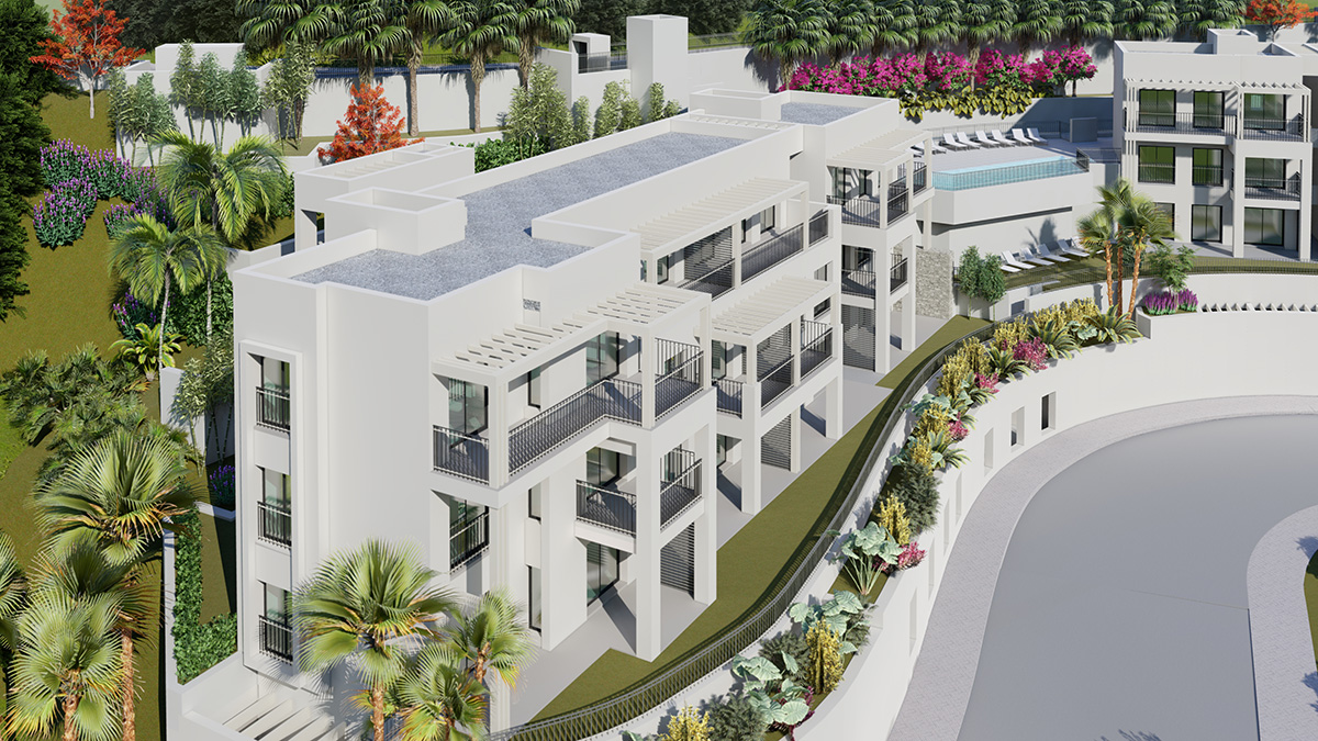 Exclusive 2 Bedrooms Apartments Complex Surrounded by Golf Courses in Mijas
