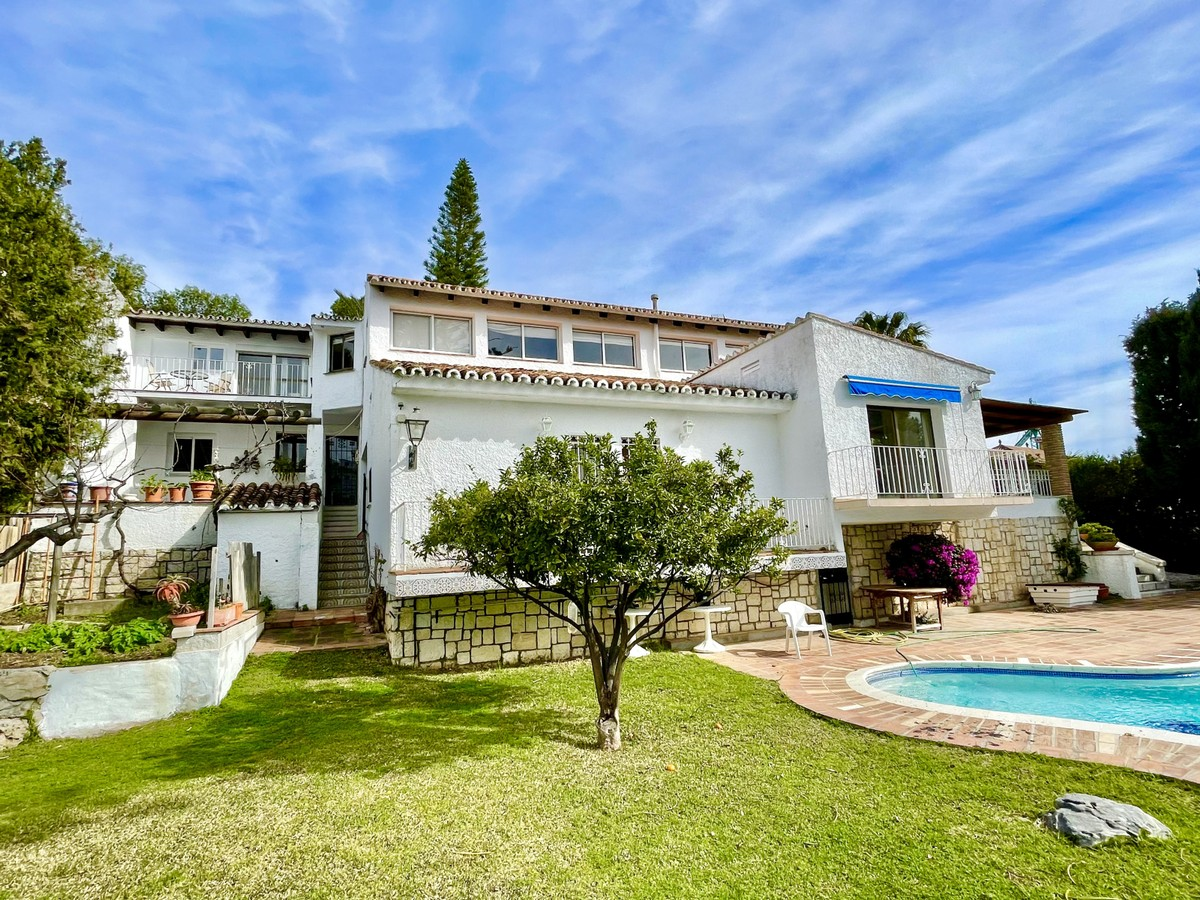 Perfect Renovation Project or One Great Plot for a Brand New Villa with Sea Views from Marbella to Gibraltar