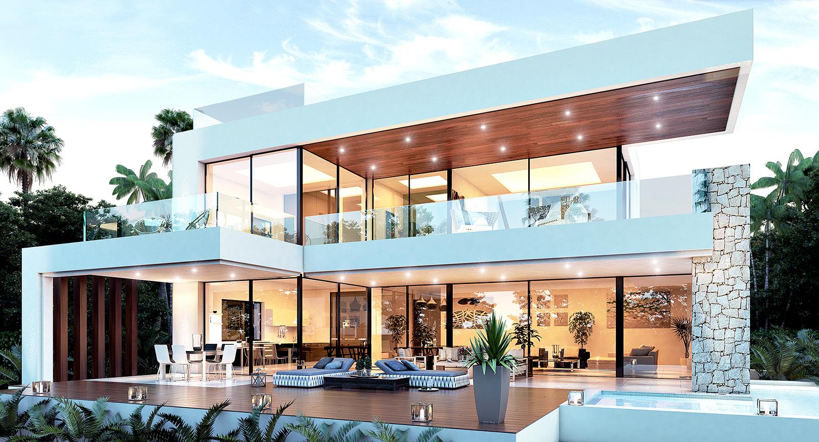 Fantástica parcela con proyecto de villa en Marbesa