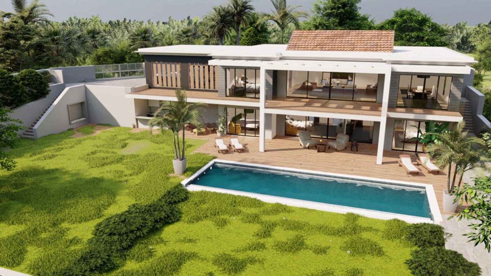 Superb New 5 Bedrooms Villa in Paraíso Alto