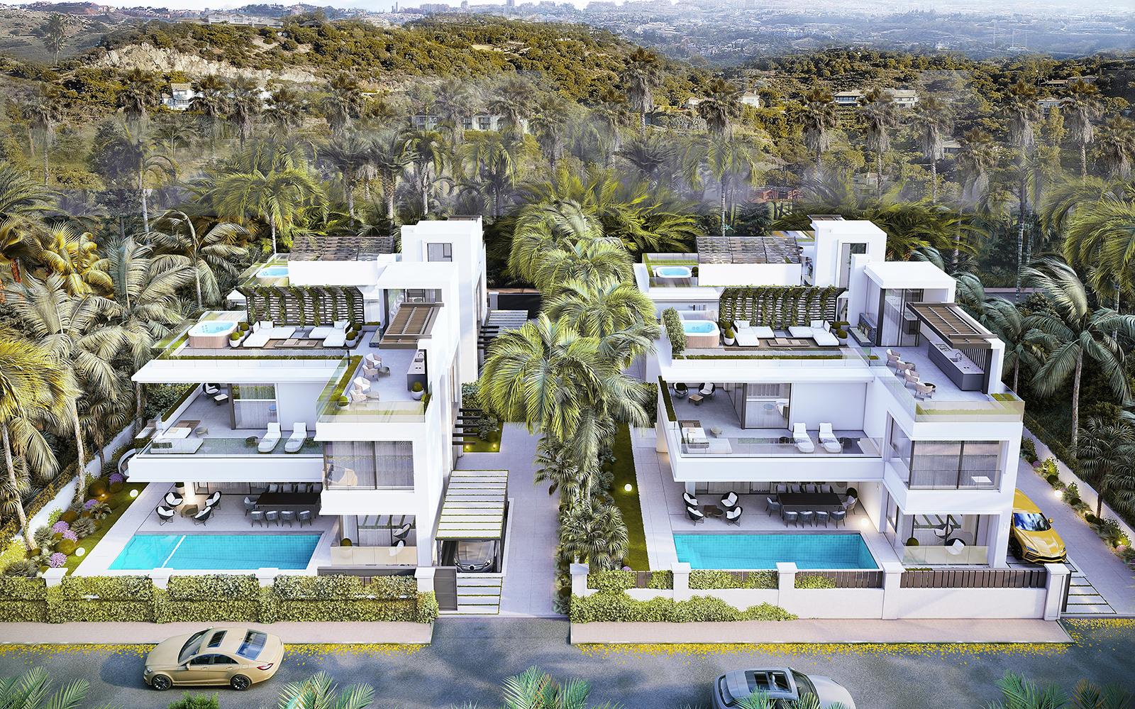 4 Villas Modernas En Construcción en Rio Verde
