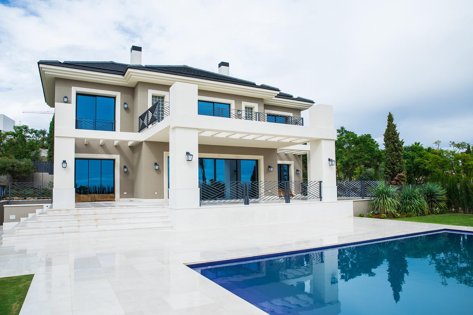 Brand new modern Villa in Los Flamingos