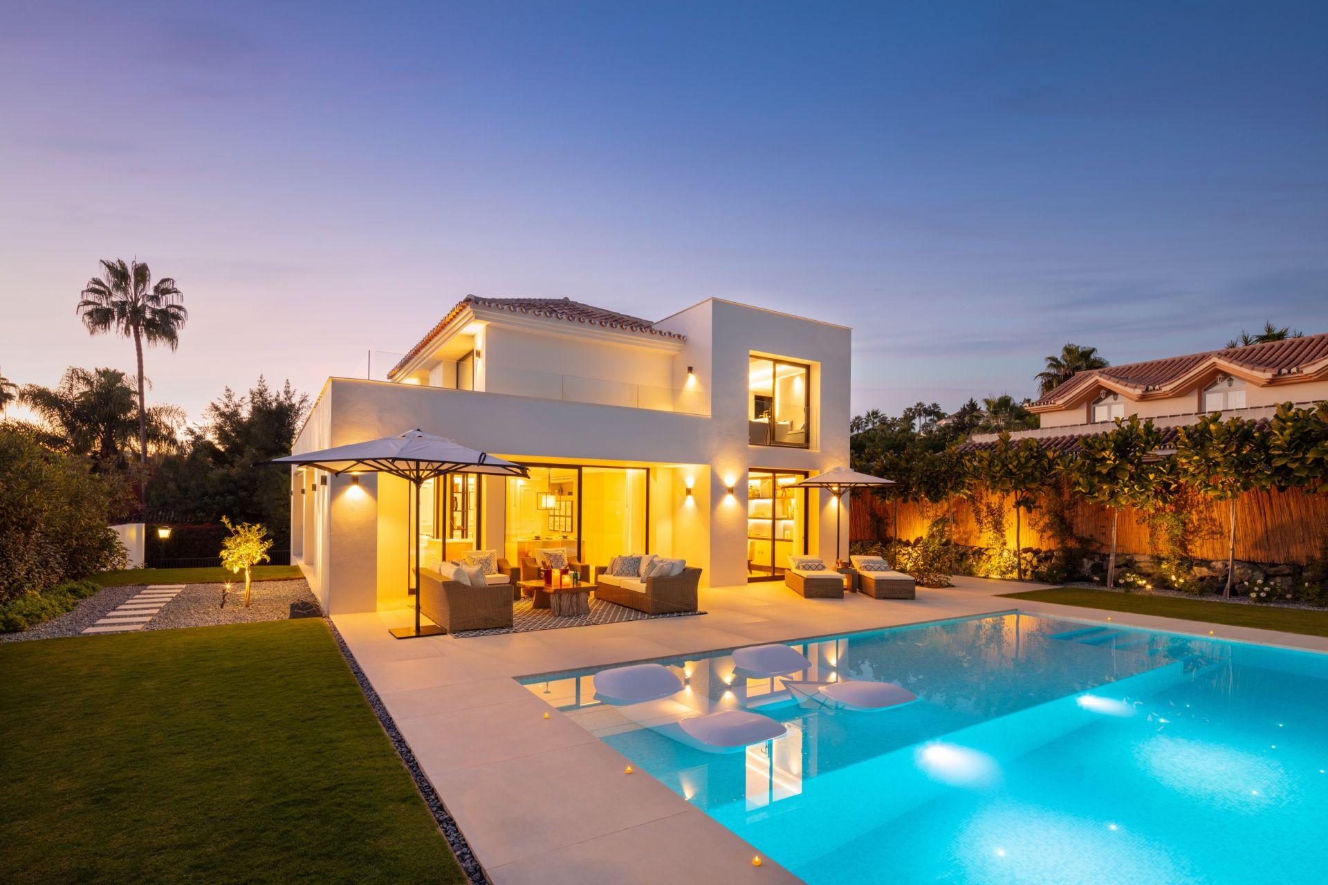 Villa moderna y elegante en el corazón del Valle del Golf