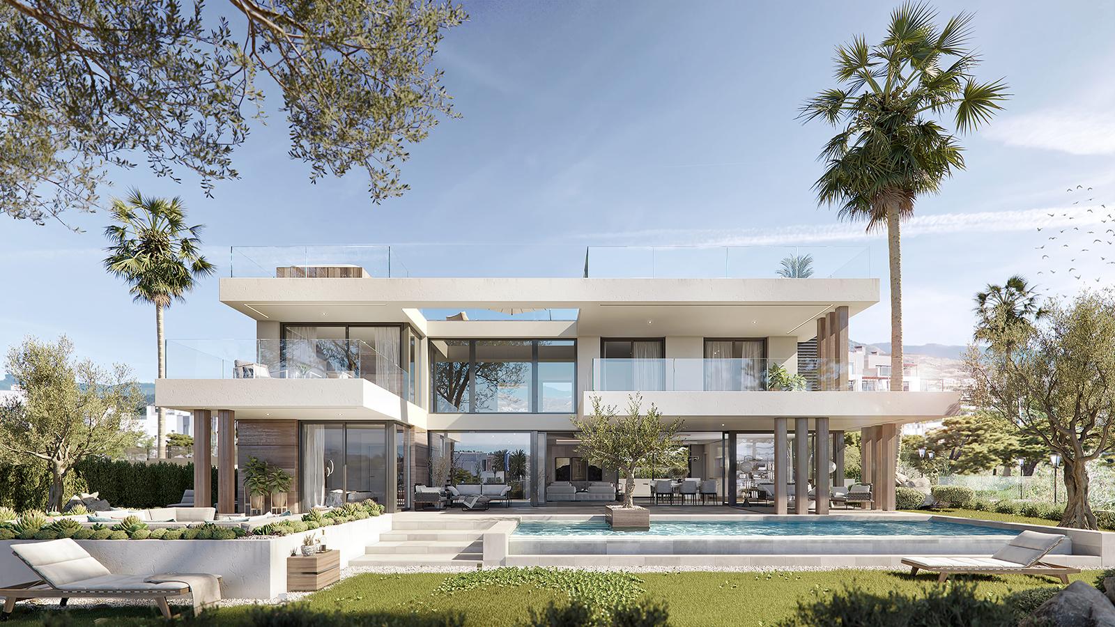 New luxury unique villa in the New Golden Mile