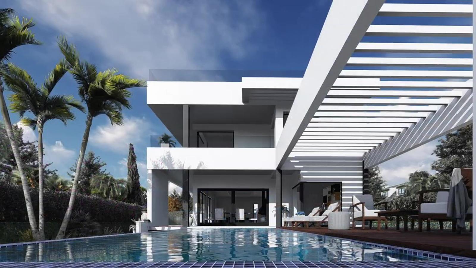 Villa de lujo a 5 min andando de la playa de Benalmádena y Puerto Marina