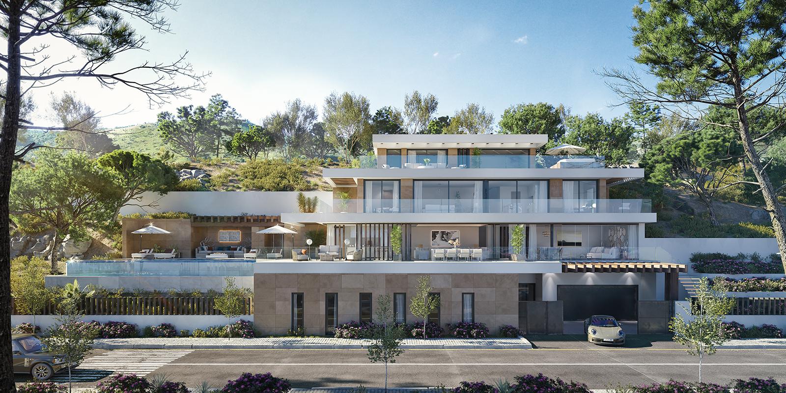 Proyecto de parcelas y villas de lujo con vistas al Mediterráneo