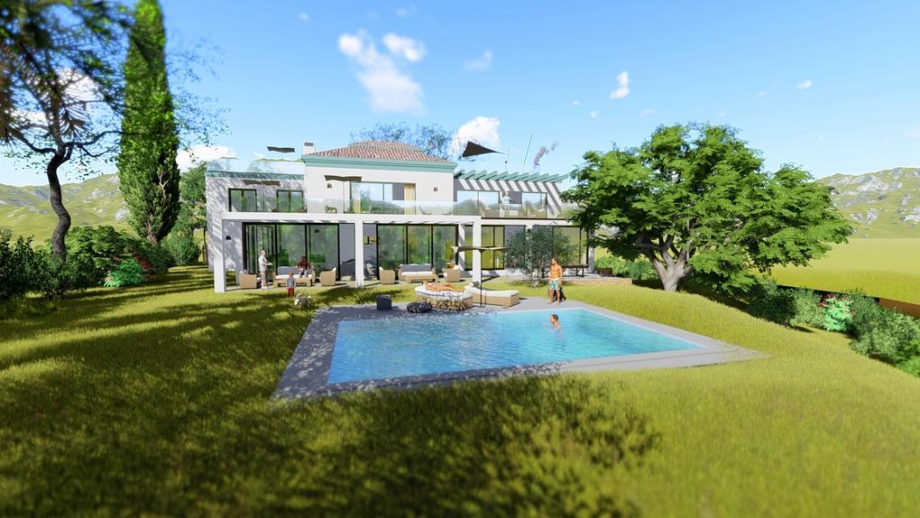 Proyecto y licencia de Villa con Vistas al Mar en El Rosario