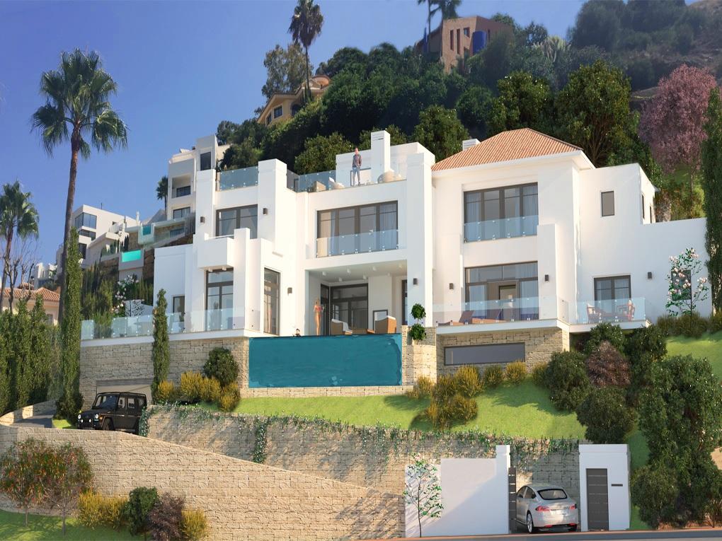 Villa con proyecto y licencia de obra en El Rosario